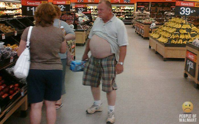 Najdziwniejsi klienci z WalMart #2 71
