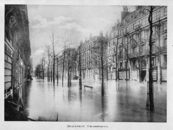 Wielka powódź w Paryżu 1910 7