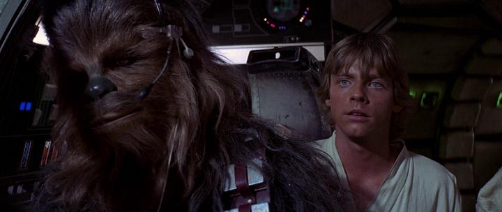 Звездные войны: Эпизод 4 - Новая надежда / Star Wars: Episode IV - A New Hope (1977) HDRip