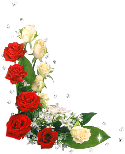 Уголок с цветами
