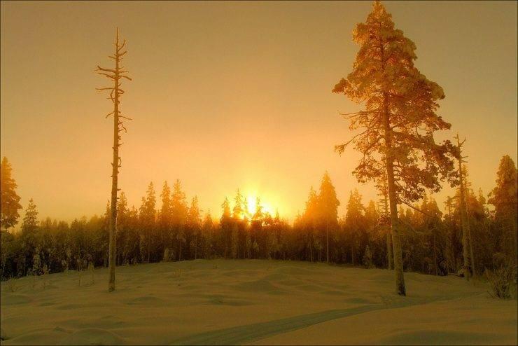 Zimowe krajobrazy 7