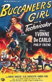 Девушка пирата / Дочь пиратa / Buccaneer's Girl (1950) DVDRip