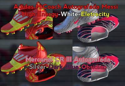 Mercurial CR7 Autografada vs MiCoach Messi Autografada by editsbygiobittar