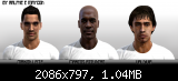 PES 2012 Palmeiras Faces Pack by Maycon & Ralphe