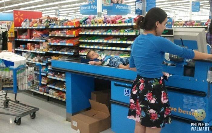 Najdziwniejsi klienci z WalMart #10 1
