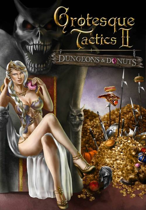 Grotesque Tactics 2: Dungeons and Donuts  (2011/ENG/RIP/KaOs)