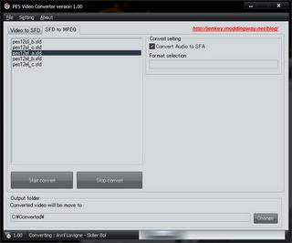 PES Video Converter v1.00