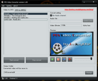 na7isic2 PES 2012: Video Converter