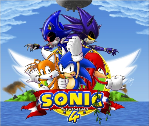 Sonic the Hedgehog 4 Episode 1  (2010/MULTi5/PORTABLE)