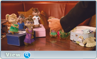 Элвин и бурундуки 3 / Alvin and the Chipmunks: Chipwrecked (2011) DVDRip-AVC