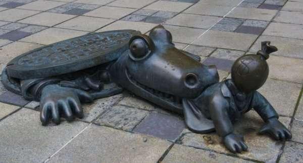 Dziwaczne rzeźby 1