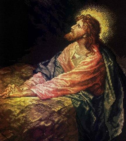 Вышивка иисуса христа 60