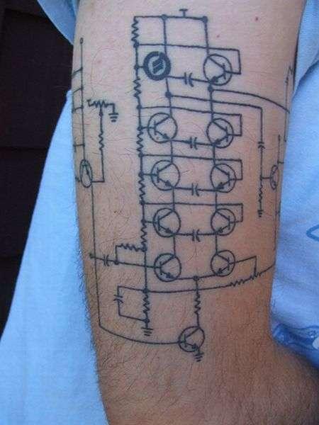 Dziwaczne tatuaże #2 6