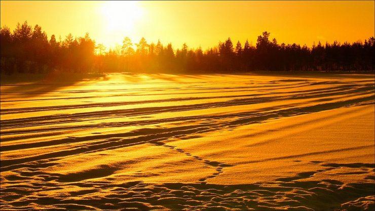 Zimowe krajobrazy 13