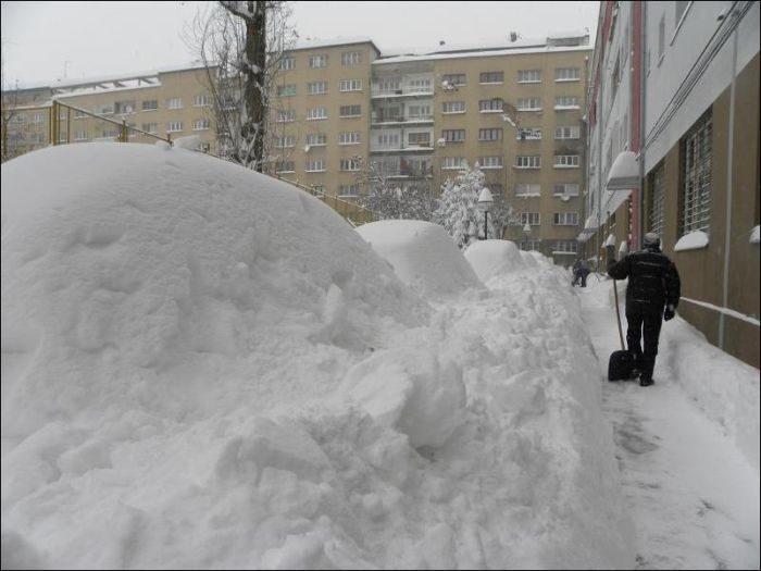 Śnieżna zima 6