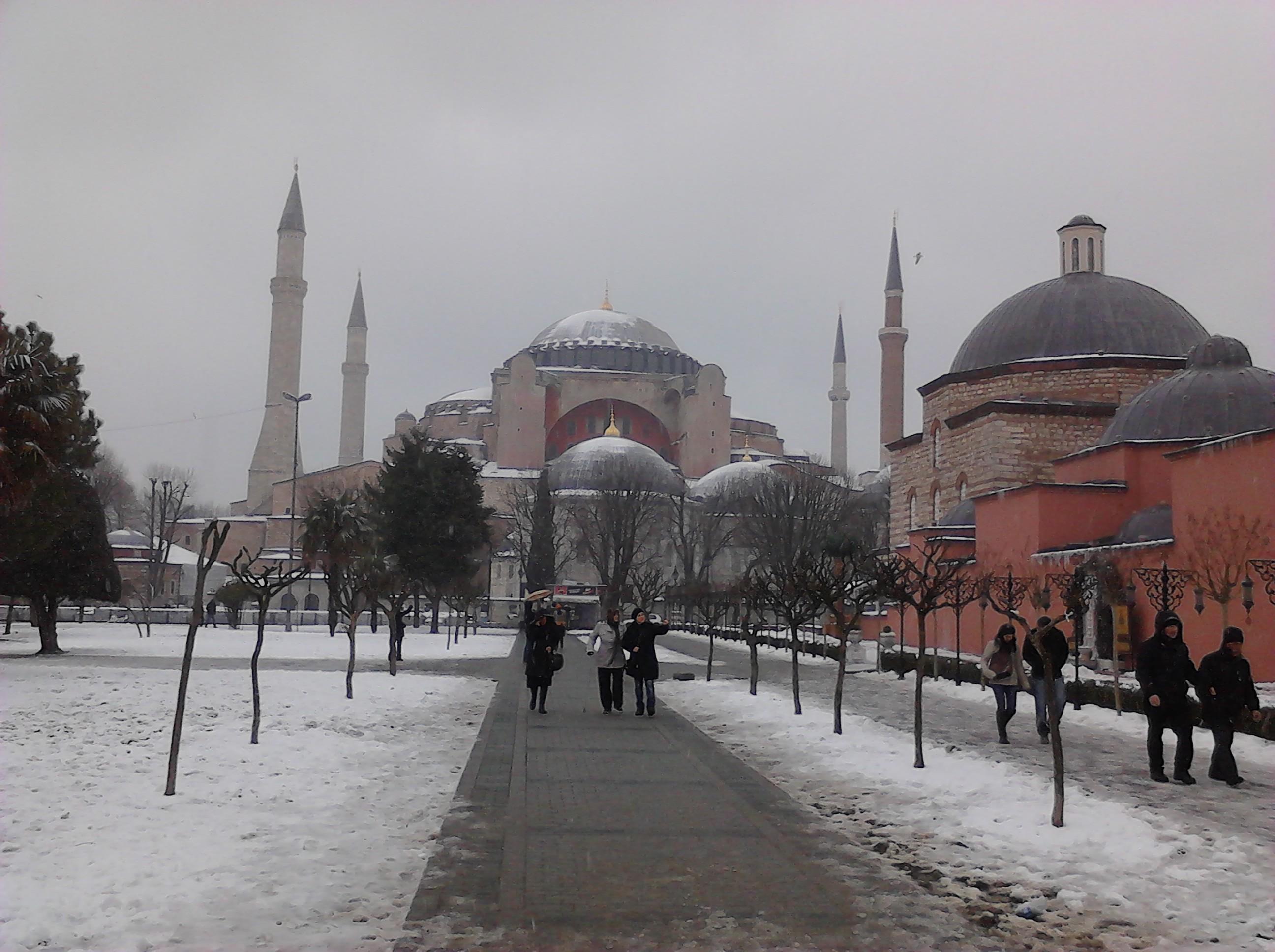 4y3txkgm - İstanbul'dan Kış Manzarası