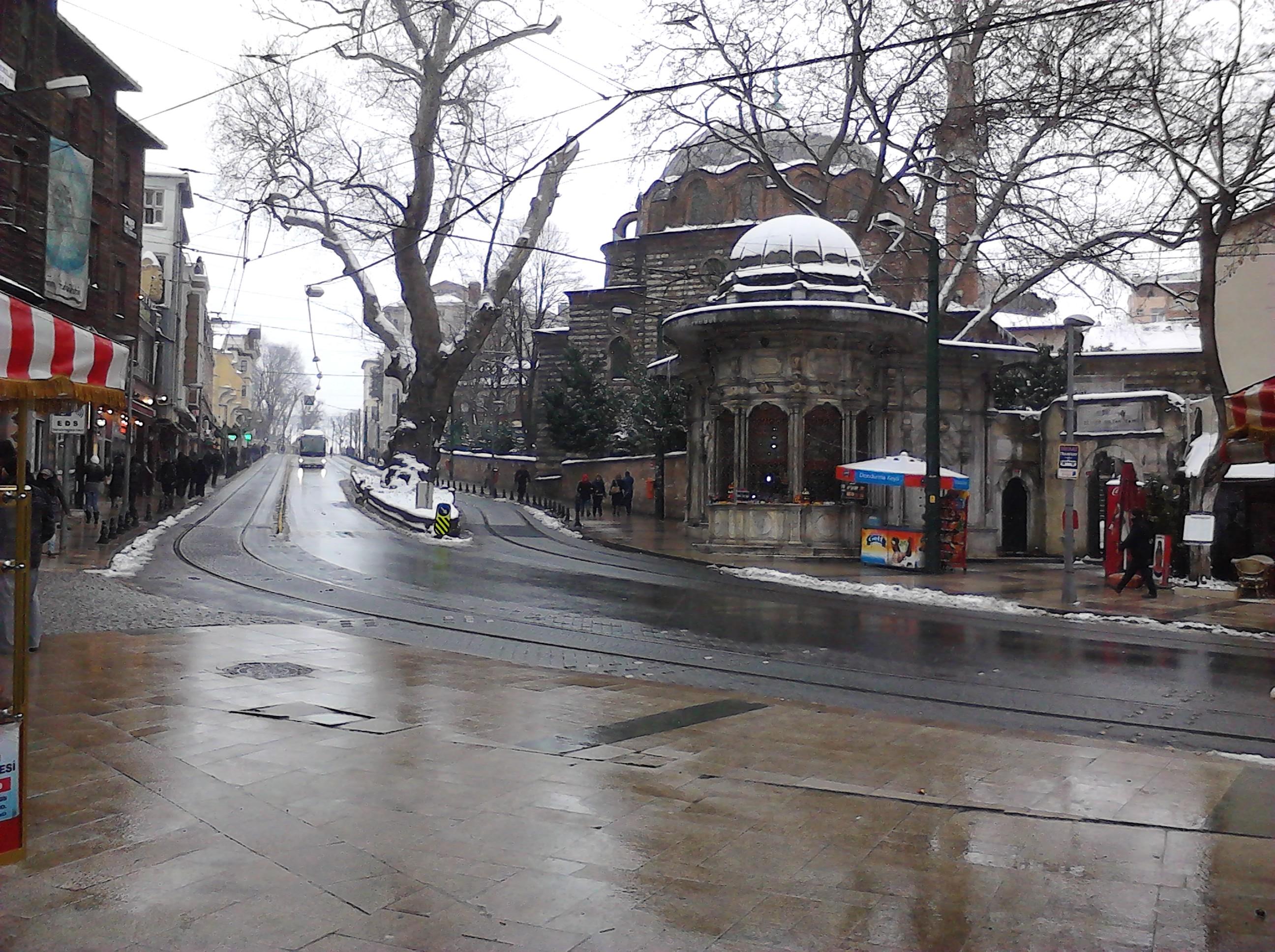 c59op7vx - İstanbul'dan Kış Manzarası