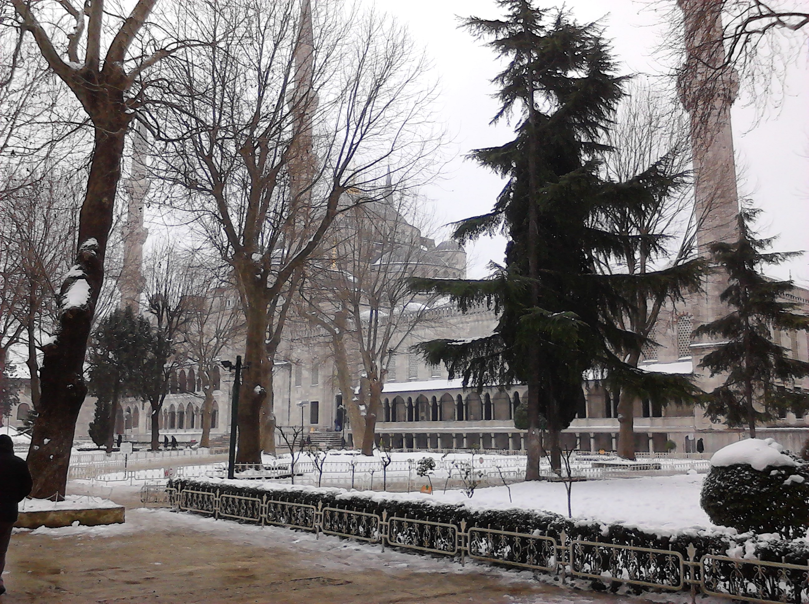 otm9tp4c - İstanbul'dan Kış Manzarası