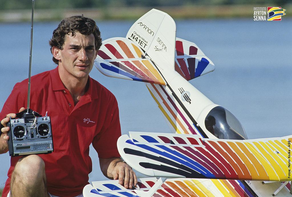La otra pasion de Ayrton Senna