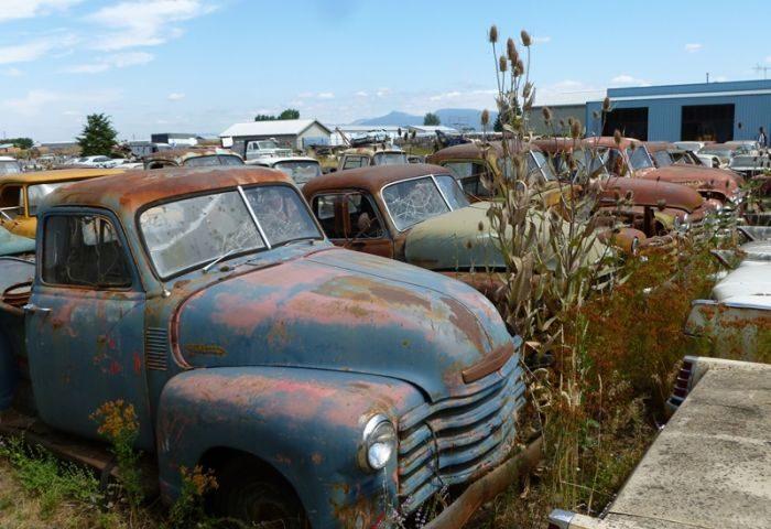 Cmentarzysko samochodów #2 22
