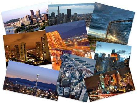 45 Tapet HD Miejskie krajobrazy
