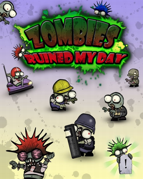 Zombies Ruined My Day (2012) RIP-Unleashed