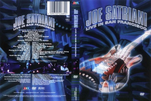 Joe Satriani - Live in San Francisco (2002) 2xDVD9