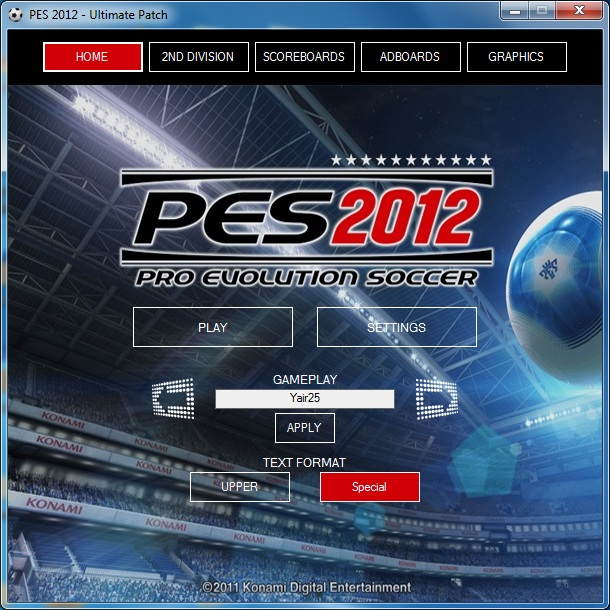 PES 2012 Ultimate Patch 1.0 by razib_46