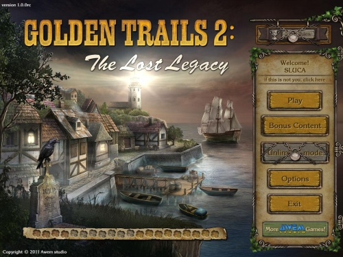 Golden Trails 2: The Lost Legacy Collector's Edition (2011) F4CG