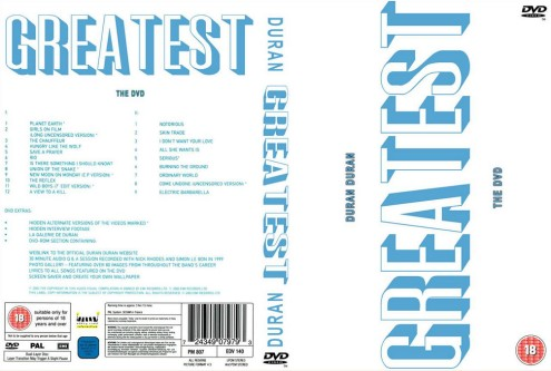 Duran Duran - Greatest The DVD (2003) 2xDVD9