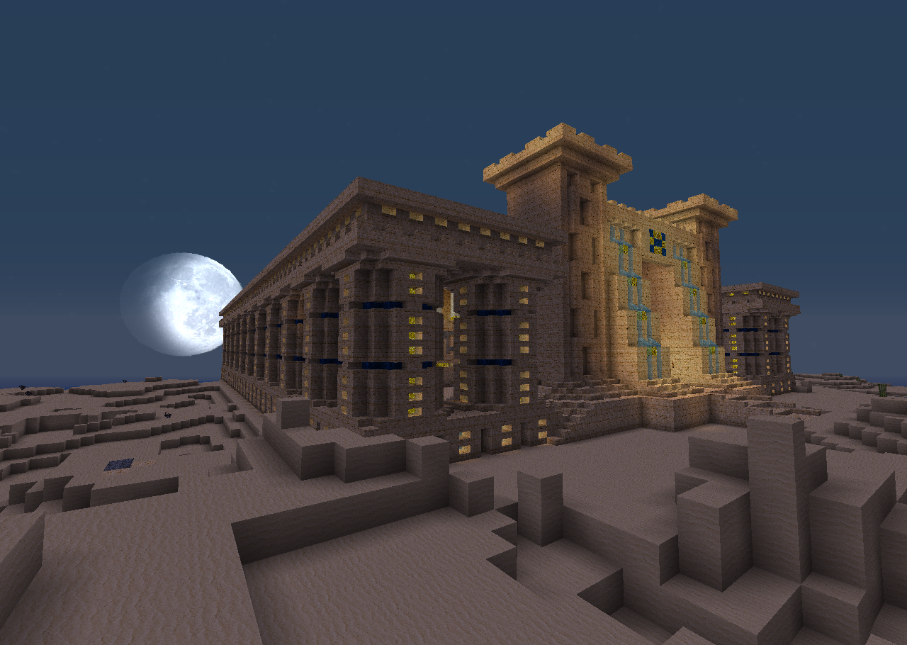 Minecraft Ancient Egypt Palace, Check Out Minecraft ...