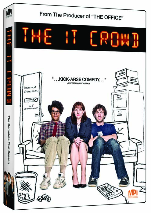 Technicy-magicy / The IT Crowd (2006-2010) [Sezon 1-2-3-4] DVDRip.XviD-iNGOT/HAGGIS *NAPISY PL*