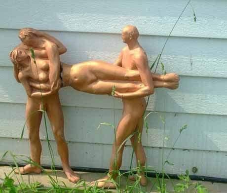 Dziwne rzeźby 4