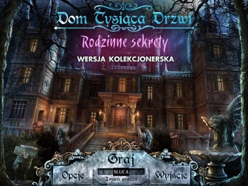 Dom Tysi±ca Drzwi: Rodzinne sekrety Edycja kolekcjonerska / House of 1000 Doors: Family Secrets (2012) P2P *WERSJA PL*