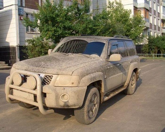 Naprawdę brudne samochody 8