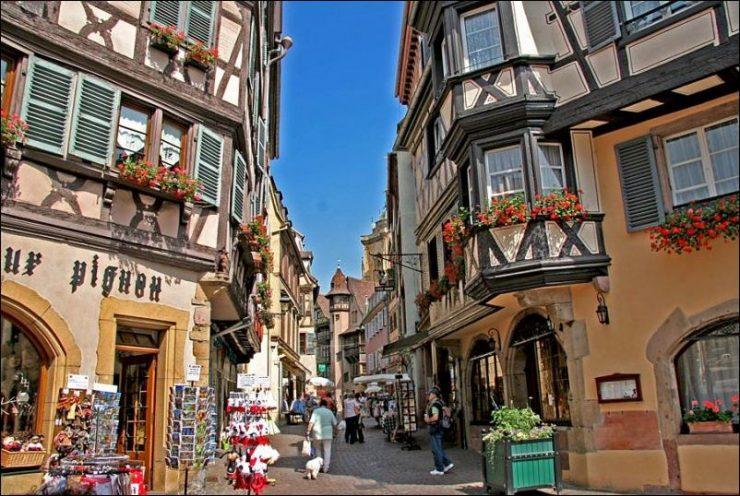 Miasta świata - Colmar [Francja] 35