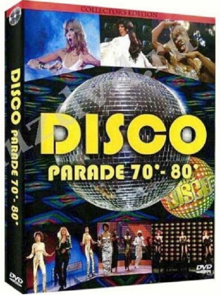 Kultnacht - Disco Star Parade 70 - 80's Vol.1, 2, 3, 4 (2007) 4xDVD5