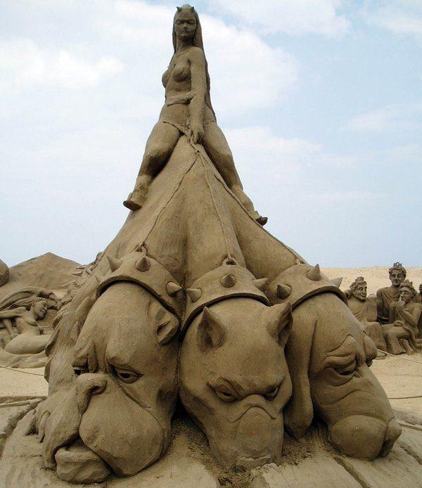 Rzeźby z piasku #3 36