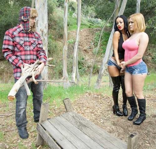 Angelina Valentine, Krissy Lynn - Sweet Bone Alabama - Brazzers / Babygotboobs (2012/HD/1080p)