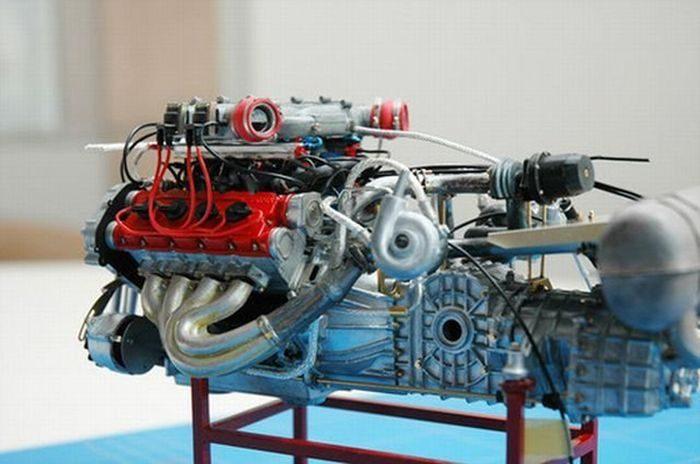 Model Ferrari F40 8