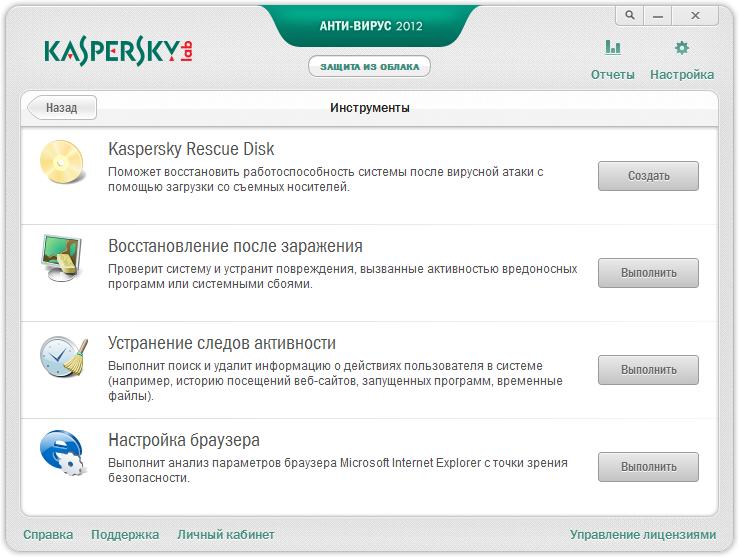 Антивирус Касперского 2012 - Скачать русскую версию Kaspersky