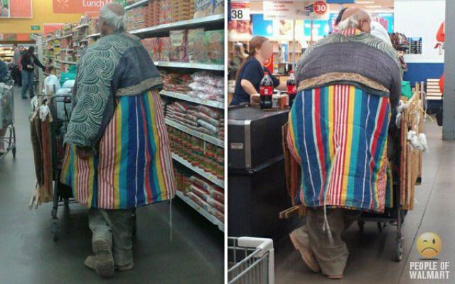 Najdziwniejsi klienci z WalMart #13 11
