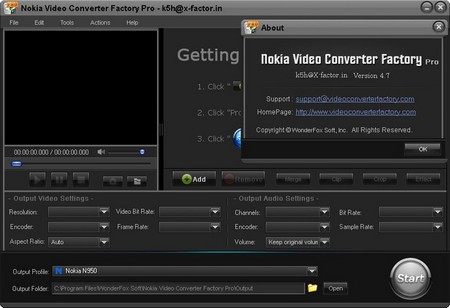 Nokia Video Converter Factory Pro 4.7