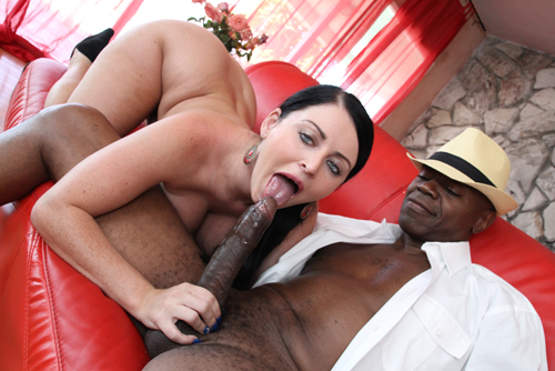 Black Cock Pounding a Sophie Dee - BangBros/ MonstersOfCock (2012/ HD 720p)