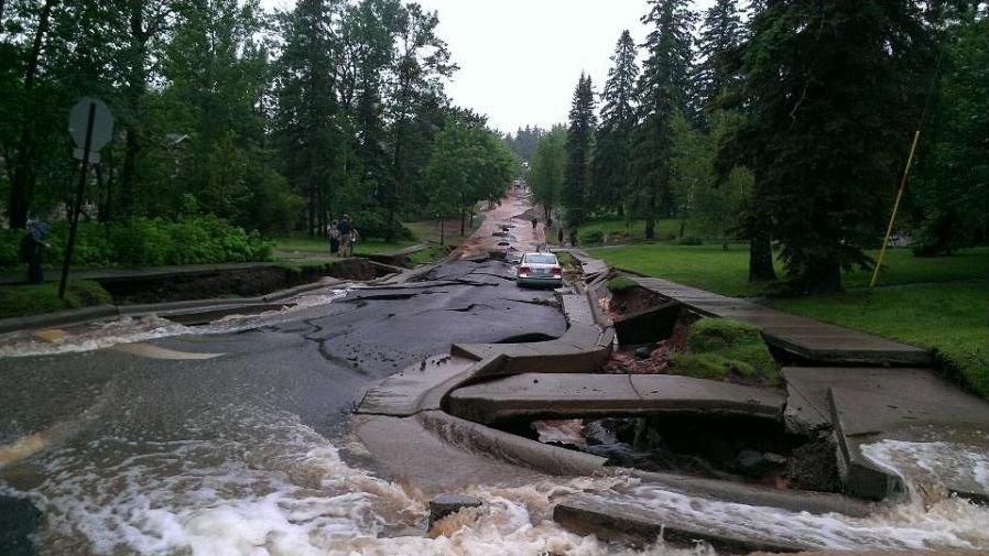 Powódź w Duluth 16