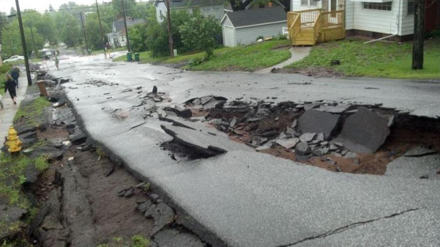 Powódź w Duluth 7