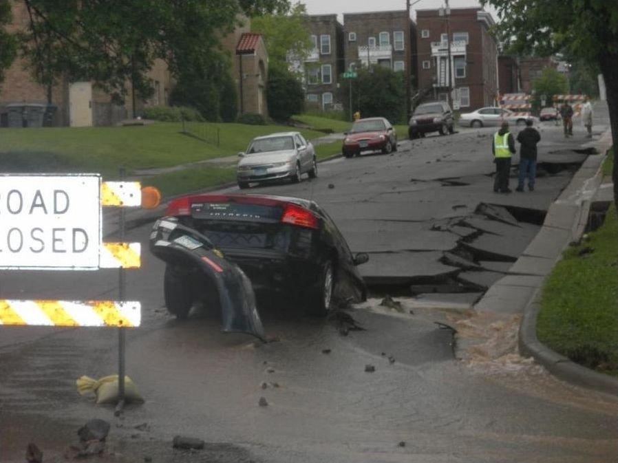 Powódź w Duluth 5