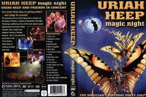 Uriah Heep - Magic Night - The Magicians Birthday Party 2003 (2004) DVD5
