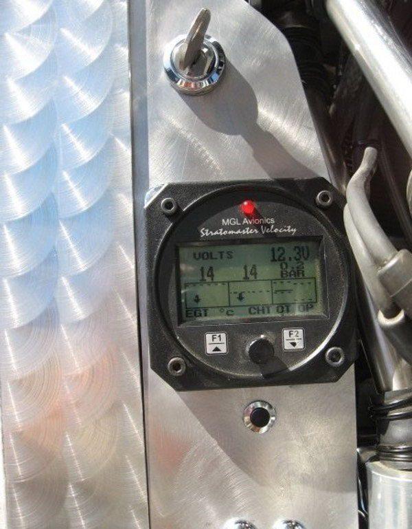 Motocykl z silnikiem gwiazdowym 7