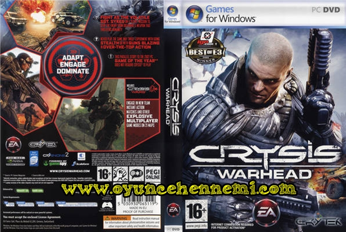ELECTRONIC ARTS (Crysis Warhead) Win32, Action, Російська, 1 pack DVD.